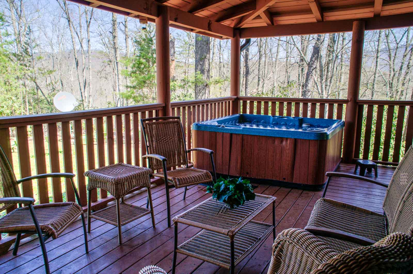 Inviting Deck